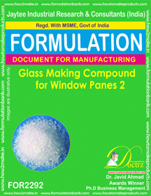 Glass Making Compound for Windowpanes 2 (for2292)