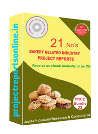 Bakery Industry Related 21 Project Reports