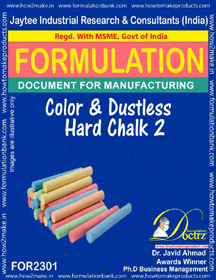 Color and Dustless Hard Chalk 2 (For2301)