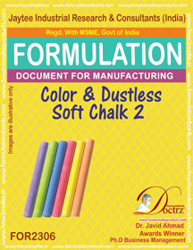 Color Dustless soft writing chalk formula-2 ( FOR 2306)
