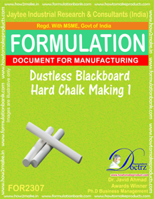 Dustless hard chalk for black board formula-1 ( FOR 2307)