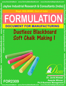 Dustless soft chalk for black board formula-1 ( FOR 2309)