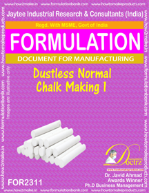 Dustless Normal chalk making-1 (For 2311)