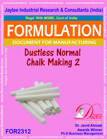 Dustless Normal chalk making-2 (For 2312)
