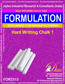 Hard writing chalk formula-1 (For 2313)