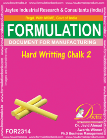 Hard writing chalk formula-2 (For 2314)
