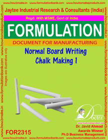 Normal Board writing chalk formula-1 (For 2315)