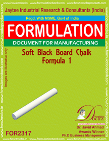 Soft Black-Board chalk formula-1 (For 2317)