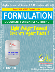 Light weight Foamed concrete agent paste-1 (FOR 2328)