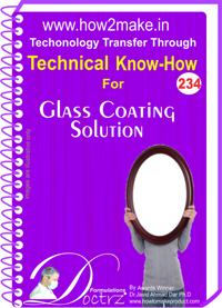 Technical Know-How Report for Glass Coating Solution (TNHR234)
