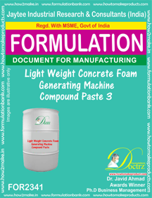 Lightweight concrete Foam Generator Machine Compound Paste-3