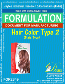 Formula of Hair Color type-2 mate-type (FOR 2349)