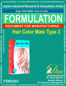 Hair color mate type formula-3(FOR 2351)