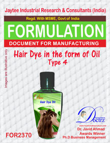 Hair Dye in Oil form type-4 (FOR 2370)