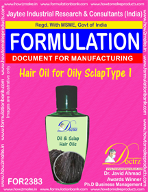 Hair Oil for oily sclap type-1 (FOR 2383)
