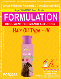 Hair Oil formula type-IV (FOR 2388)
