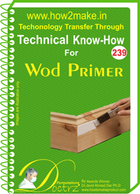 Technical Know-How Report for Wood Primer (TNHR 239)