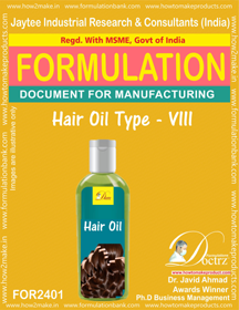 Formula of Hair Oil type-viii (FOR 2401)
