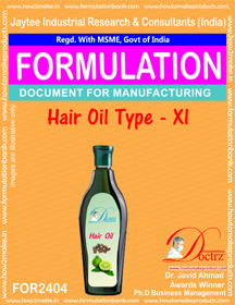 Formula of Hair Oil type-xi (FOR 2404)