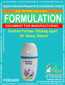 Deodorant perfume masking agent for Heavy odors (FOR 2408)