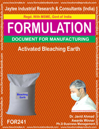 Activiated Bleaching Earth Making