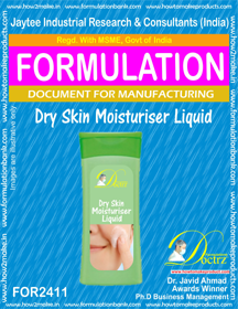 Formula of Dry Skin moisturizing Liquid (FOR 2411 )
