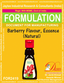 Barberry Flavor Essence Natural (FOR 2419 )