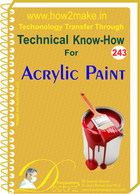 Technical Know-How Report for Acrylic Paint (TNHR243)