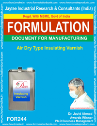 Air Dry Type Insulatig Varnish Making