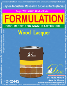 Wood Surfaces Lacquer Formula (FOR 2442)