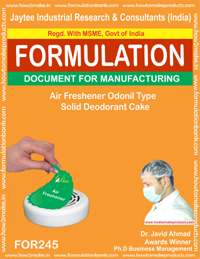 Air Freshener Odonil Type Soilid Deodrant Cake Making