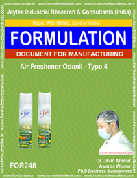Air freshener odonil type 4