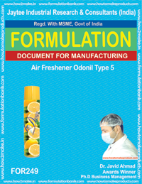 Formula for odonil type 4 air freshener