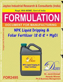 NPK Liquid Dripping & Foliar Fertilizer( (FOR 2495)