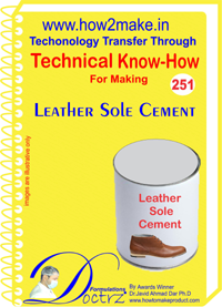 Technical Know-How Report for Ieather Sole Cement (TNHR251)