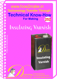 Technical Know-How Report for Insulating Varnish (TNHR2