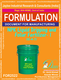 NPK Liquid Dripping and Foliar Fertilizer -I (10-4-7) FOR 2522