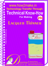 Technical Know-How Report for Lacquer Thinner (TNHR254)