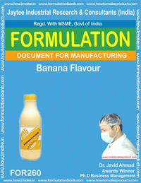 Banana flavour making