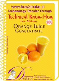 Technical Know-How Report for Orange Juice Concentrate (TNHR26