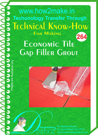 Technical Know-How Report for Economic Gap Filler Grout (TNHR26