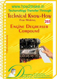 Technical Know-How Report for Engine Degreaser Compound (TNHR26