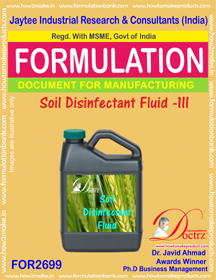 Soil Disinfectant Fluid -III (FOR2699)