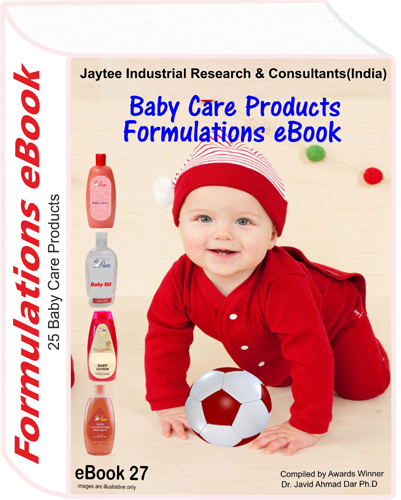 Baby Care Products Manufacturing Formulations eBook eBook27
