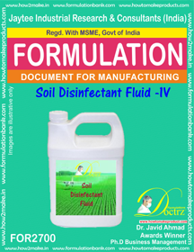 Soil Disinfectant Fluid -IV (FOR2700)