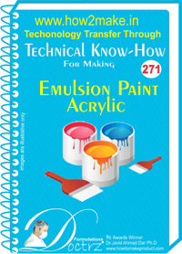 Emulsion Paint Technical Know How Report (tnhr271)