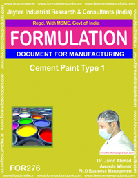 Cement paint Type 1(formula 276)
