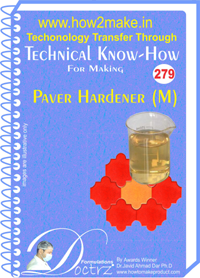 Paver Hardener M Technical Knowhow Report (TNHR279)