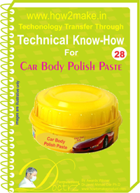 Technical knowHow report for Car body polish paste(TNHR 28)