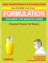 Chastered flavour for bakery (formula 281)
